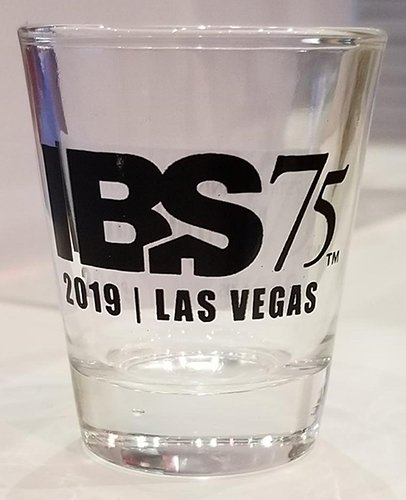 IBS 75th Anniversary Shot Glass