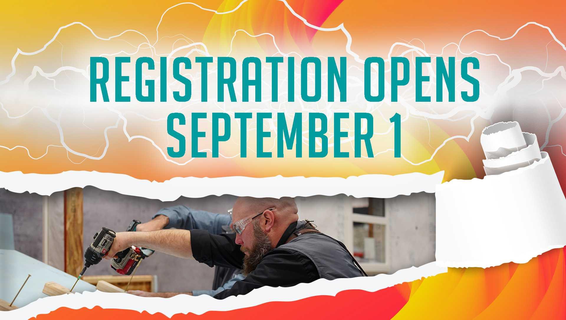 Registration Opens September 1
