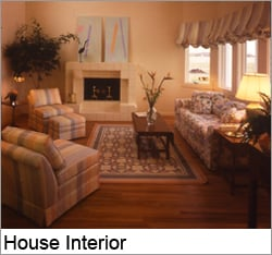 The 1985 New American Home Living Room