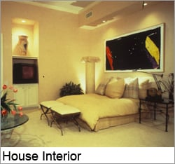 The 1987 New American Home Master Bedroom