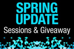 Spring Update: Sessions & Giveaway