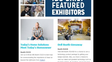 IBS daily exhibitor email