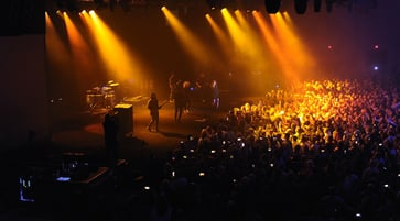 Concert and crowd