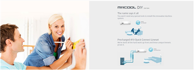 Logo for MRCOOL