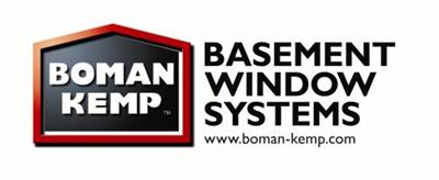 Logo for Boman Kemp Basement Egress Systems