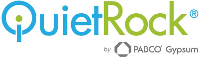 Logo for QuietRock by PABCO Gypsum