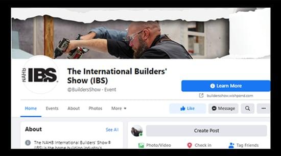 IBS facebook page