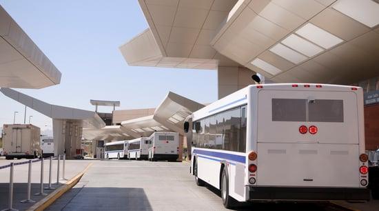 Shuttle Bus Headrests