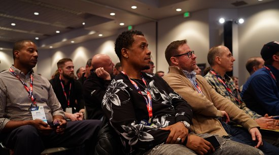 Attendees watch during NAHB Education